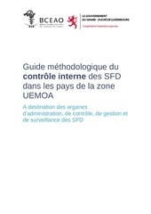 guide methodologique du controle interne