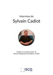 interview sylvain cadiot
