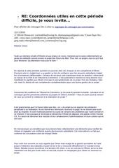 mail revelateur roll grenier membre effectif asbl