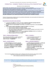 2017 remplir son bulletin d inscription aux formations