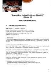 reglement sportif course scalext dry 1 1