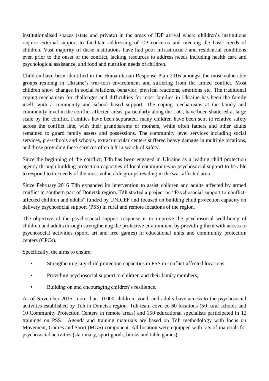 12.12 ToR PSS Capital report UNICEF.pdf - page 2/5