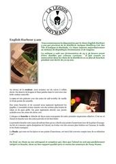 Fichier PDF fiche de degustation english harbour 5 ans