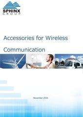 sphinx wireless accessories catalogue november 2016