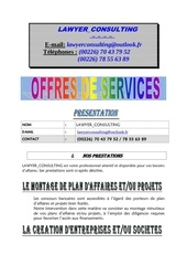 offre de service lawyer consulting 1