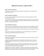 Fichier PDF reglement du concours du logo foir 1