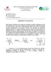 Fichier PDF internship carbohydrate chemistry 1
