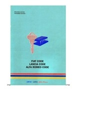 Fichier PDF fiat alfa code
