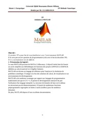 introduction matlab