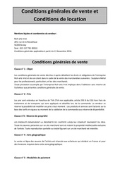 Fichier PDF conditions generales page facebook