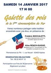 invitation galette des rois 3eme circo