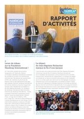 rapport annuel annual report 2015 2016