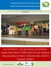 rapport sommet panafricain jeunes g54 afrique