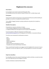 reglement concours brasseurs amateurs