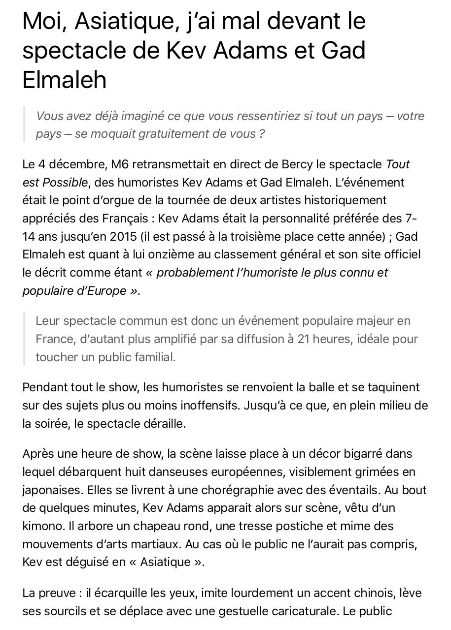 Aperçu du document article censuré racisme clique tv.pdf - page 1/6