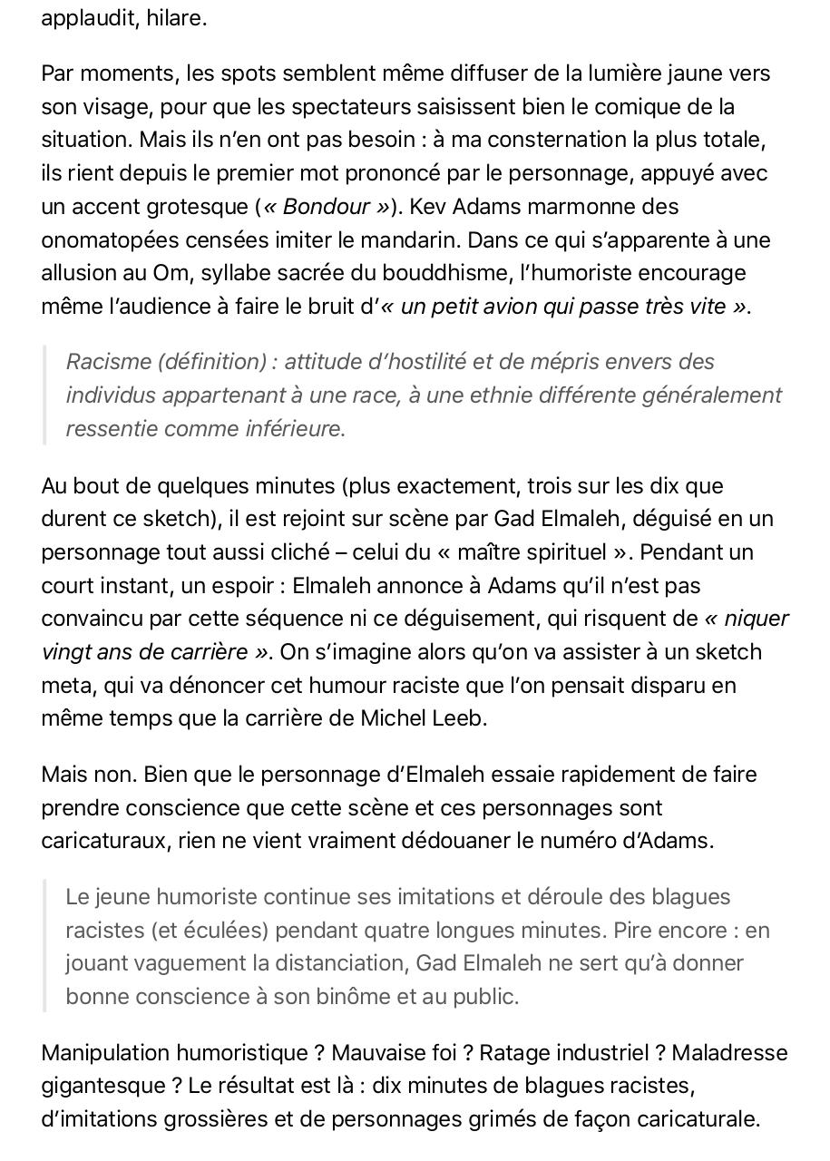 Aperçu du document article censuré racisme clique tv.pdf - page 2/6