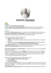 aristote politique