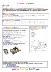 Fichier PDF composant ordin