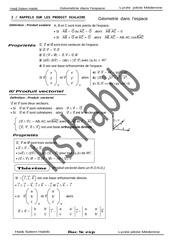 geometrie dans l espace bac sc exp copie 1