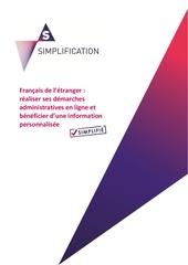 Fichier PDF simplification francais de l etranger