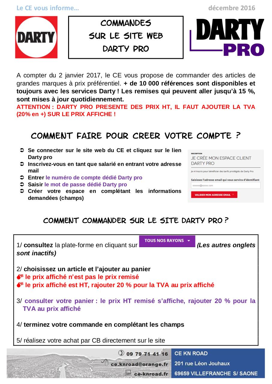 Aperçu du document procedure darty pro.pdf - page 1/1