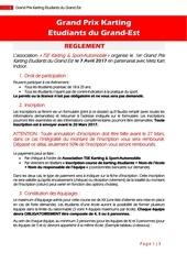 reglement test