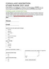 Fichier PDF formulaire inscription russie 2018