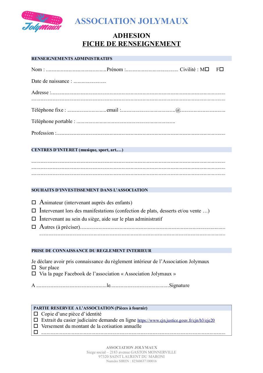Par davy ramanich lupon fichier pdf for Reglement interieur association pdf