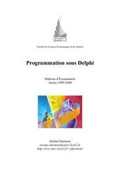 Fichier PDF delphi first approche