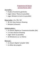 Fichier PDF prog dessin