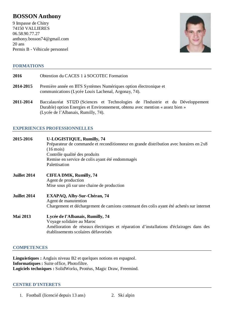 fichier pdf  cv anthony bosson pdf par user  1
