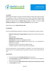 recrutement stage journalisme