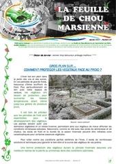 feuille de chou marsienne 27 janvier 2017