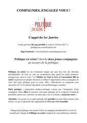 Fichier PDF dossier de candidature politique en sce ne