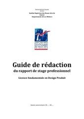 guide de redaction r stage dp