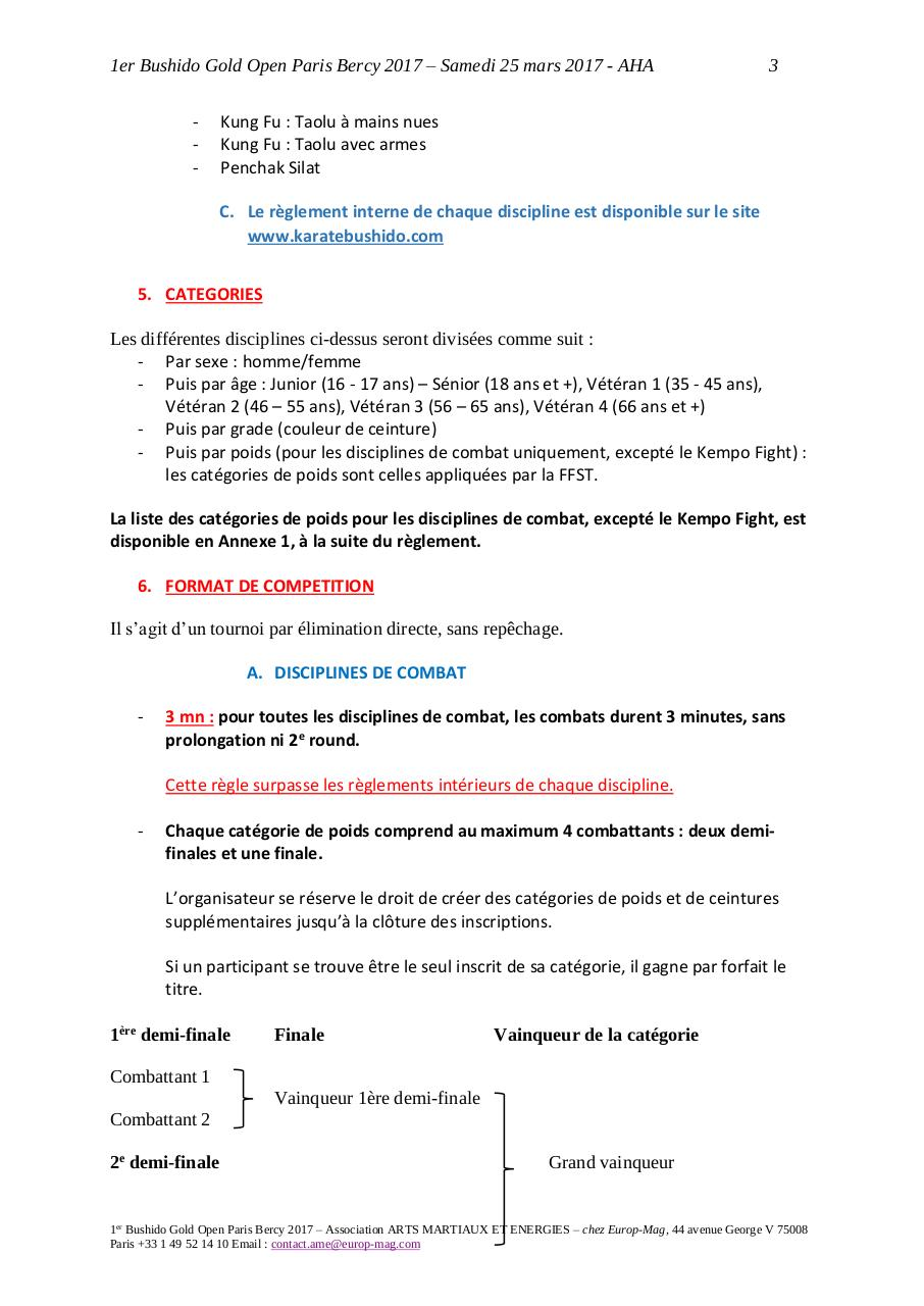 Règlement Officiel 1er Bushido Gold Open.pdf - page 3/12