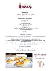 2017 01jan 09 recette mini galette