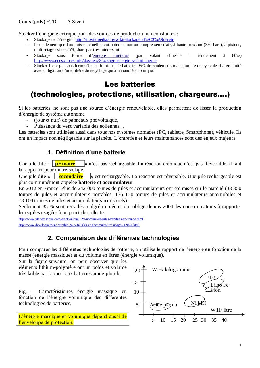 Cours batteries technologies protections, test, chargeurs.pdf - page 1/10