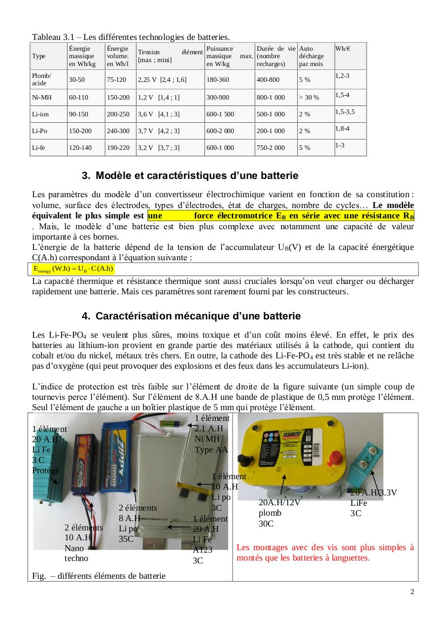 Cours batteries technologies protections, test, chargeurs.pdf - page 2/10