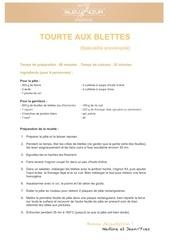 Fichier PDF bleu azur recette tourte aux blettes