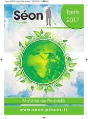 catalogue seon proprete 2017
