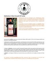 fiche de degustation habitation velier forsyth wp 2005