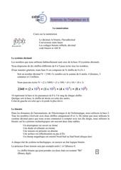 Fichier PDF la numeration