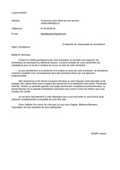 Fichier PDF lettre motivation pdf