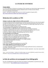Fichier PDF tpe fiche de synthese