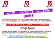 17 01 11 tract greve adjoint administratif hsa