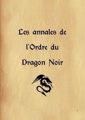 les annales de lordre du dragon noir