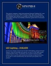Fichier PDF quality led lights oman