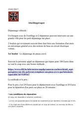 Fichier PDF depannage