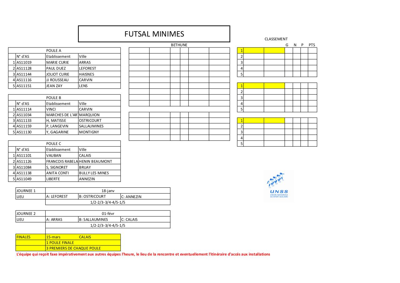Aperçu du document Calendriers_futsal_Pole_competition_2016_2017_.pdf - page 2/6